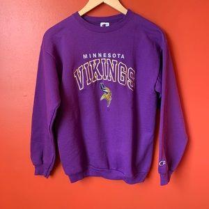Vintage Minnesota Vikings crewneck